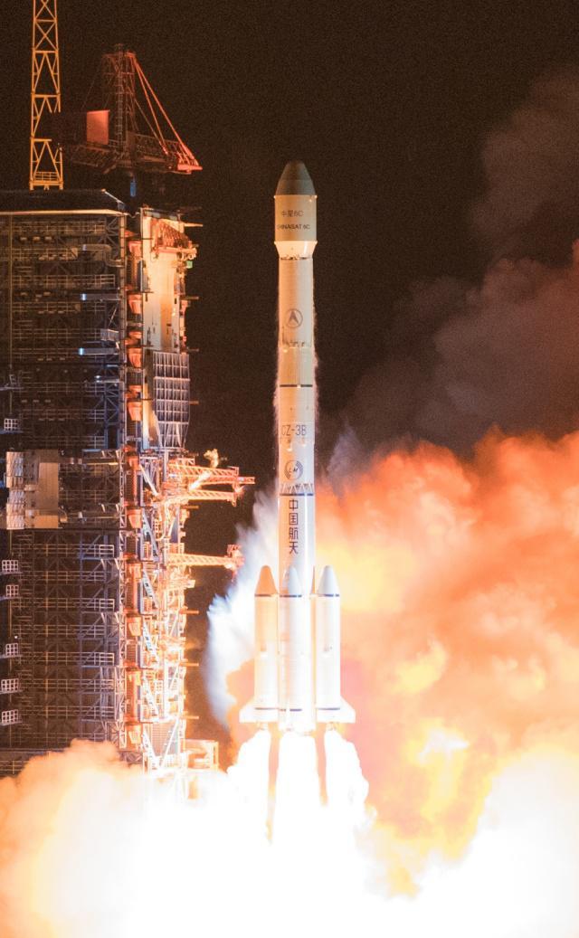 我国中星6C卫星发射成功(图文)
