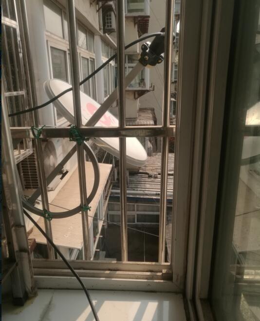 阳台窗户东向侧装射下138度[山东济南](图文)